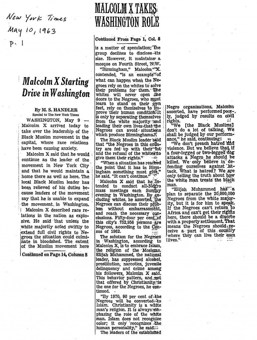 004 Essay Example Malcolm X ~ Thatsnotus
