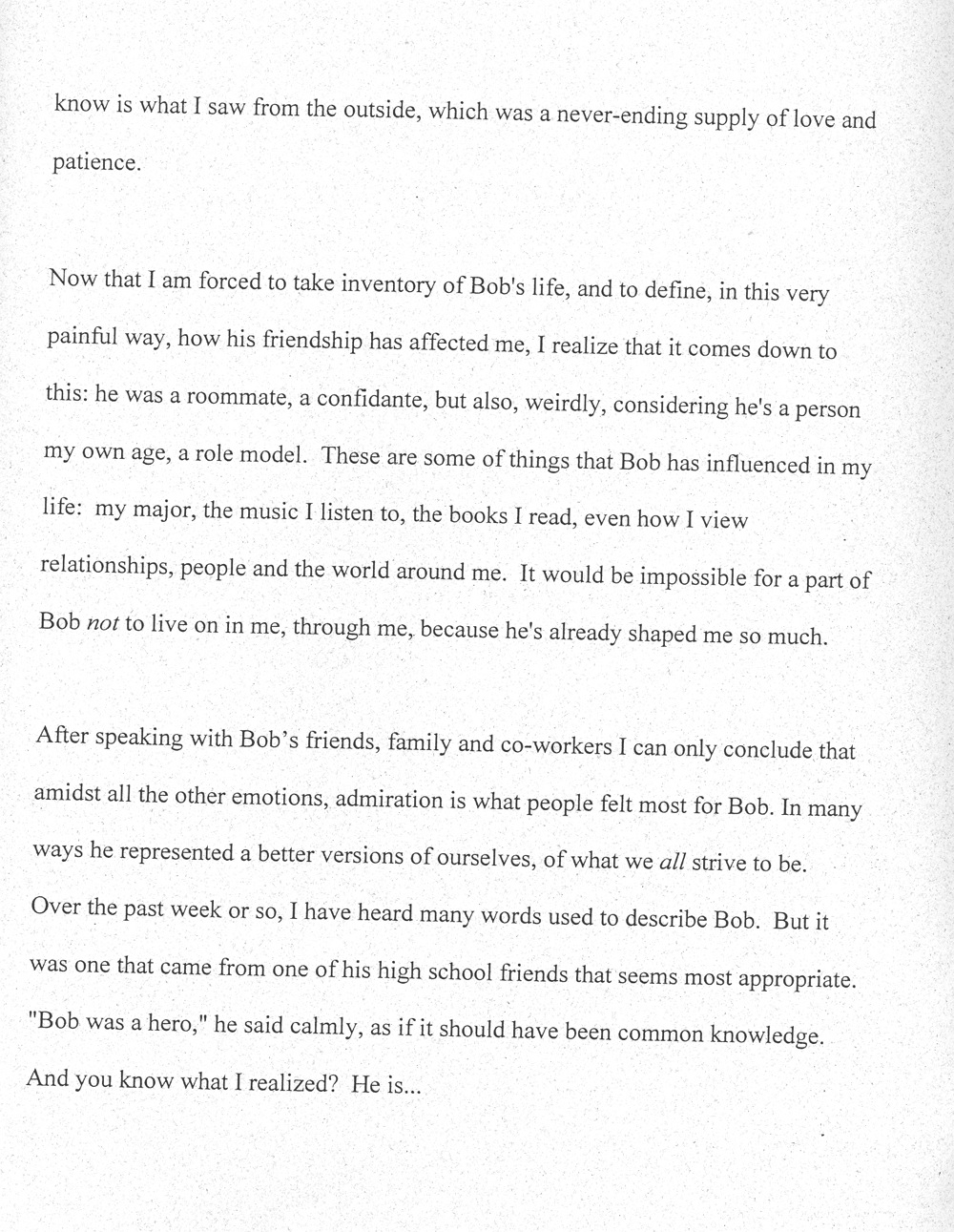Awesome Role Model Essay ~ Thatsnotus