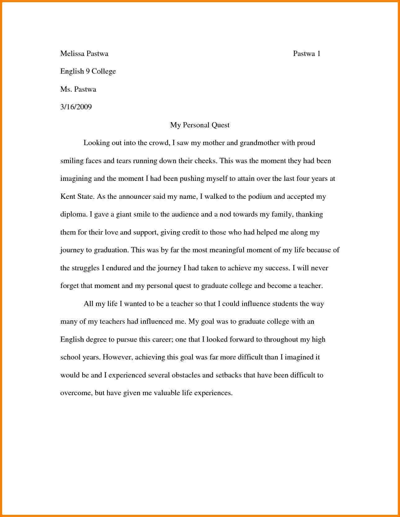 016 How To Write Memoir Essay Cv Psychology Template P1