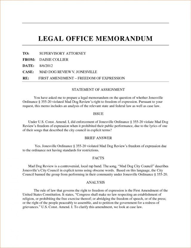 Pa255 Unit 25 Legal Memo  modernalternativemama.com