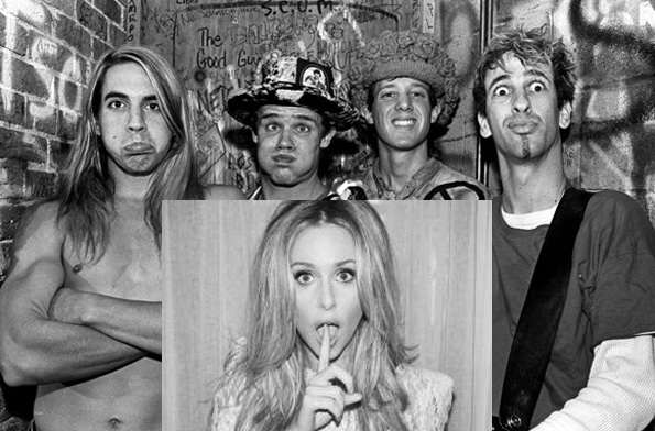 Red Hot Chili Peppers and Diana Vickers