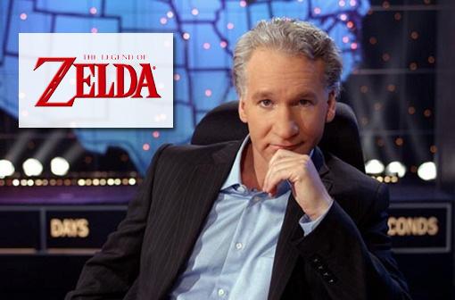 Bill Maher Theme vs. Zelda
