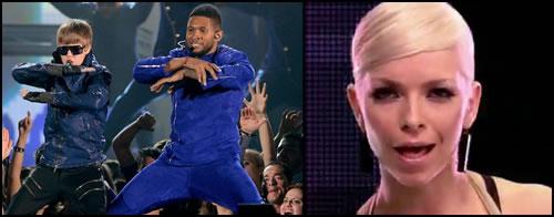 Justin Bieber and Usher vs. September