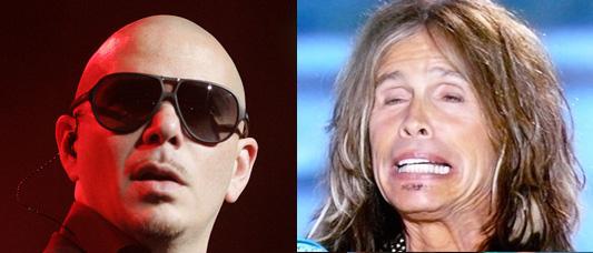 """Pitbull """"Fireball"""" sounds like Aerosmith """"Walk this Way"""""""