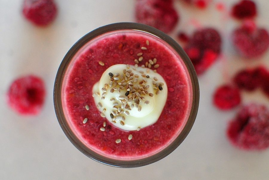 Chai Raspberry Mousse