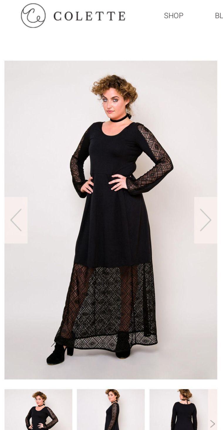 maxisewalong2017 – Knit Maxi Dress Pattern Inspiration – That\'s Sew Amy