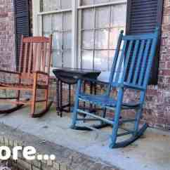 What Is A Rocking Chair Black Modern Dining Chairs Painted Diy You Can Do That Sweet Tea Life