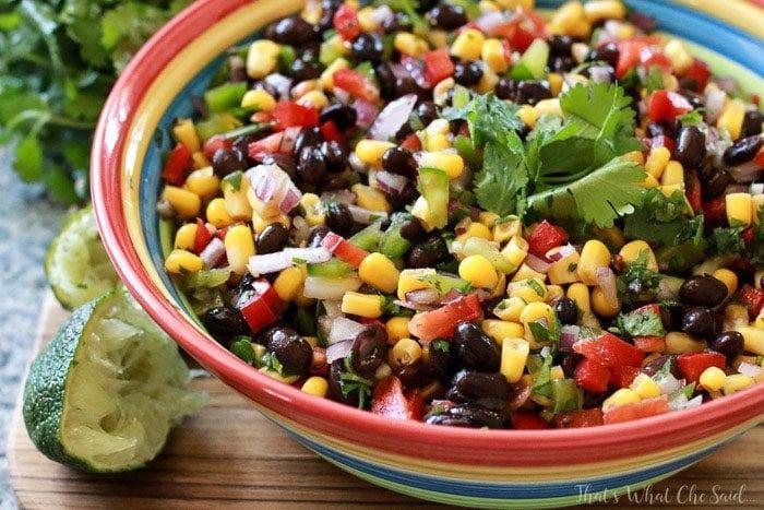 Corn & Black Bean Salsa Recipe
