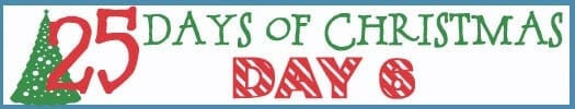 25 Days of Christmas Banner day 6