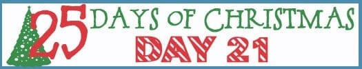 25 Days of Christmas Banner day 21
