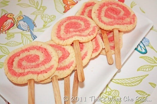 Valentine's Day Swirl Cookies