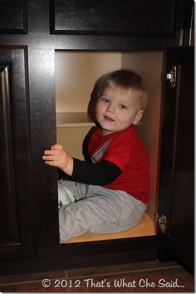 Hiding in the Cabinet