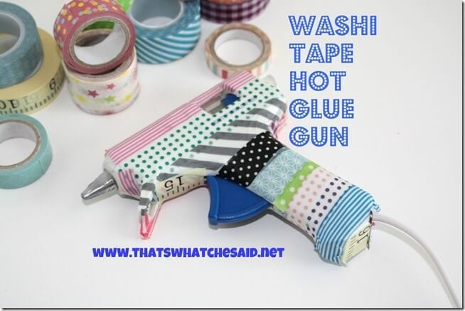 Washi Tape Hot Glue Gun