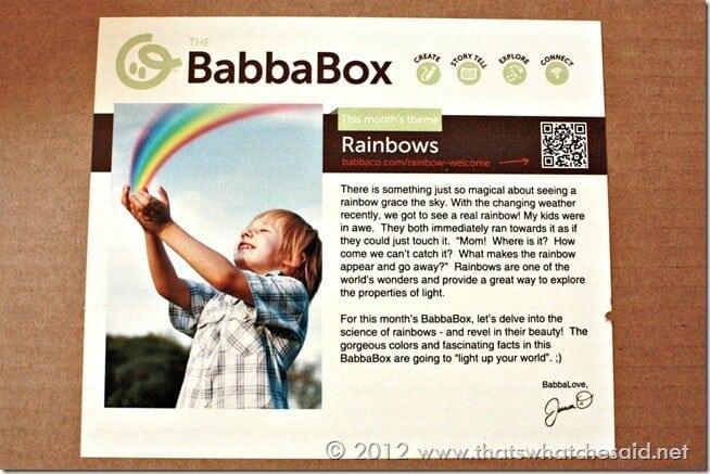 BabbaBox Rainbows