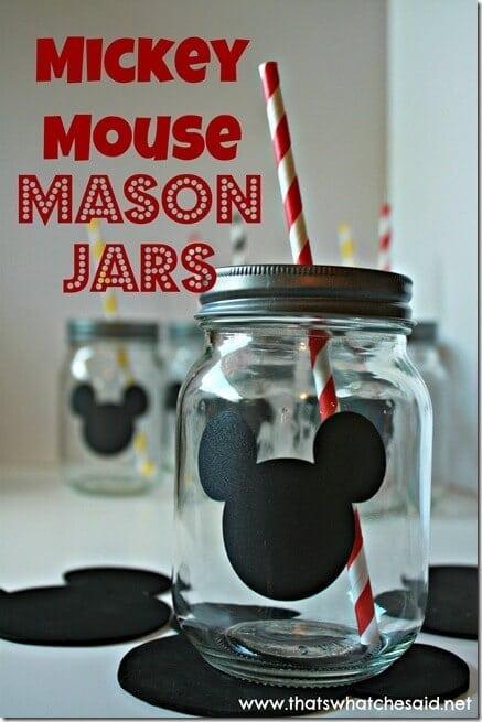 Mickey Mason Jars