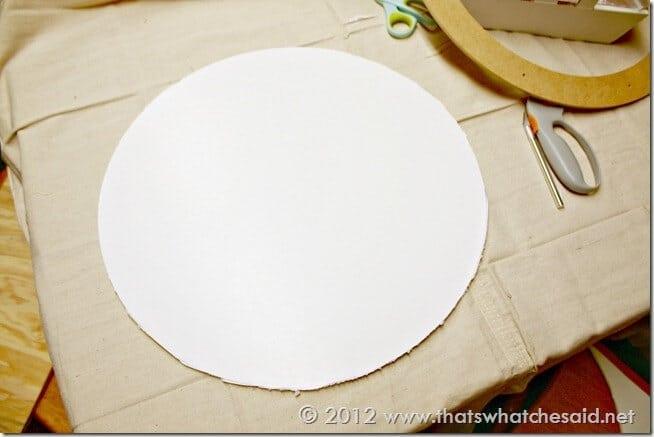 Foam Board Base - Circle
