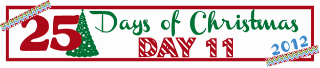 25 Days of Christmas Banner Day 11