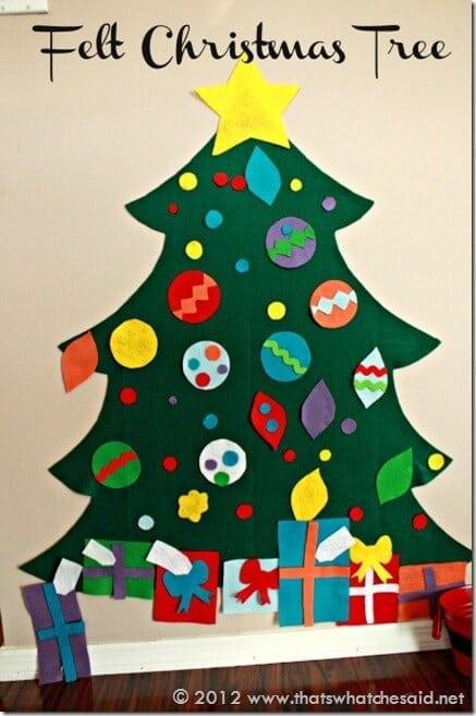 Christmas Tree Decorating Ideas Crafts