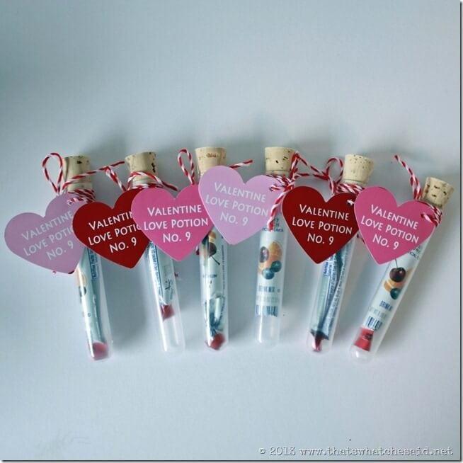 Love Potion Valentine