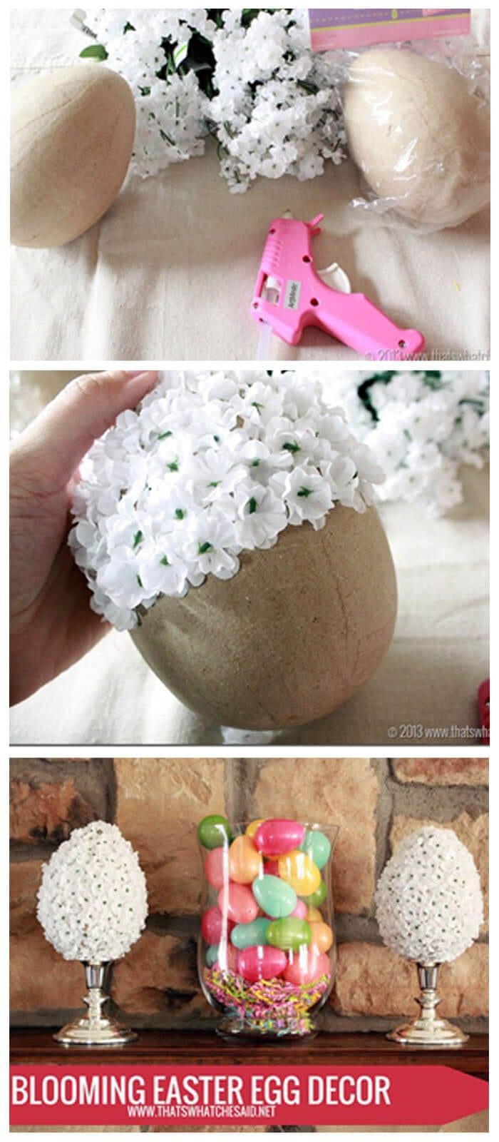 Blooming Easter Egg Decor