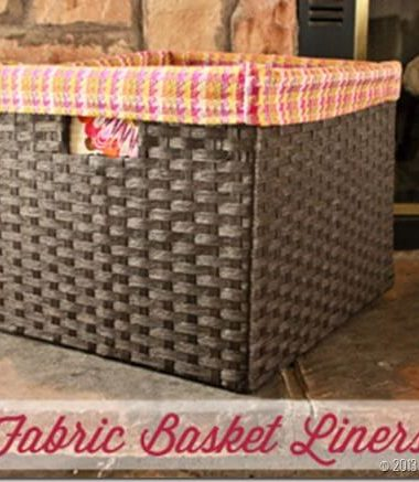 Fabric Basket Liners