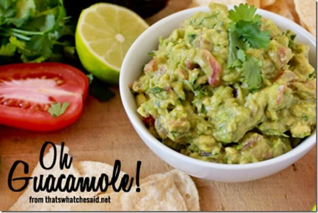 Oh Guacamole Recipe at thatswhatchesaid