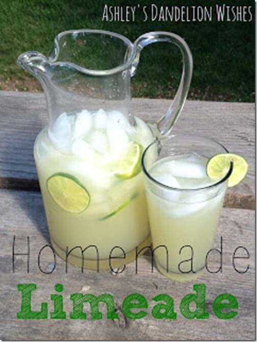 Homemade Limeade