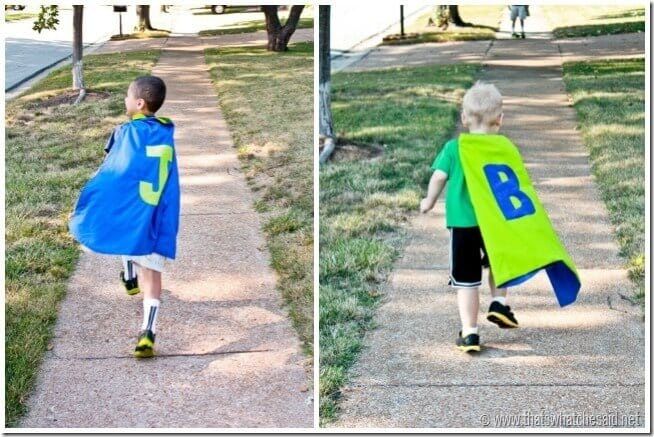 Superhero Capes at thatswhatchesaid.net