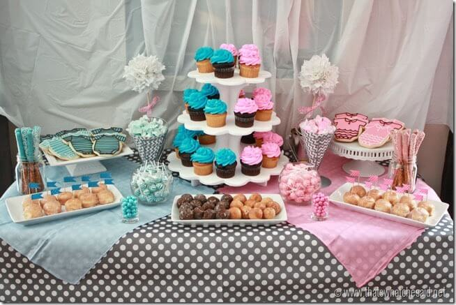 Gender Reveal Party Ideas at thatswhatchesaid.net