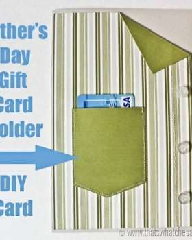 Father's Day Shirt Gift Card Holder Card at thatswhatchesiad.net