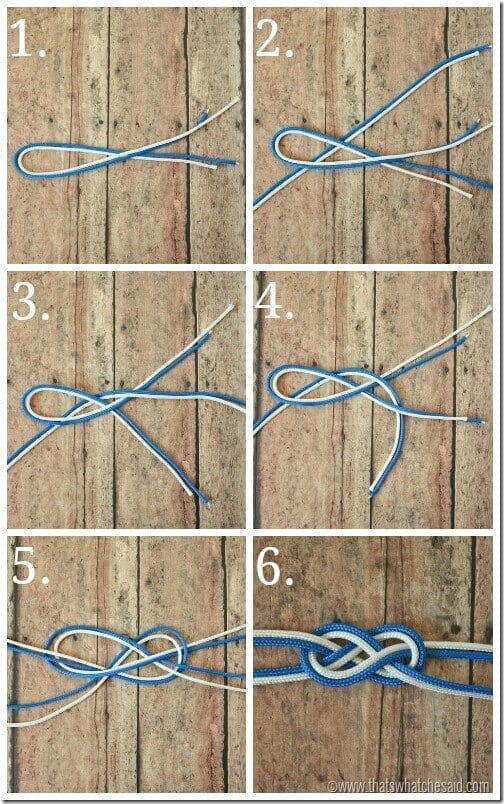 DIY Rope Bracelet at thatswhatchesaid.com