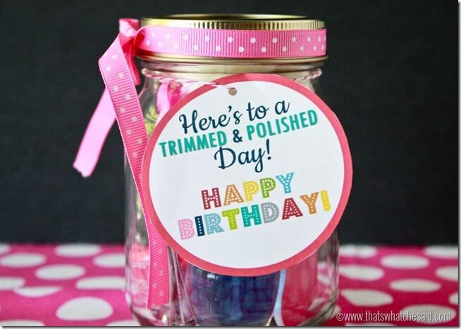 Printable Free Birthday Gift Tag at thatswhatchesaid.net