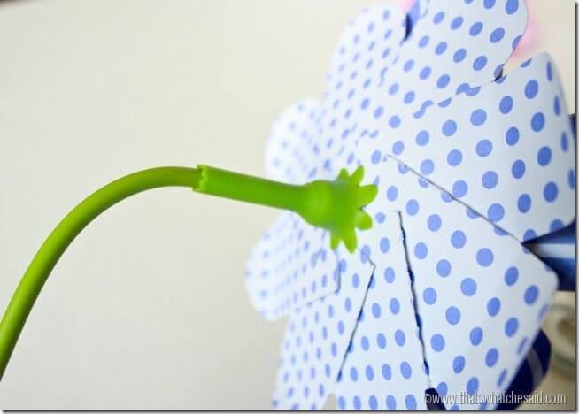 Simple Paper Flowers 14