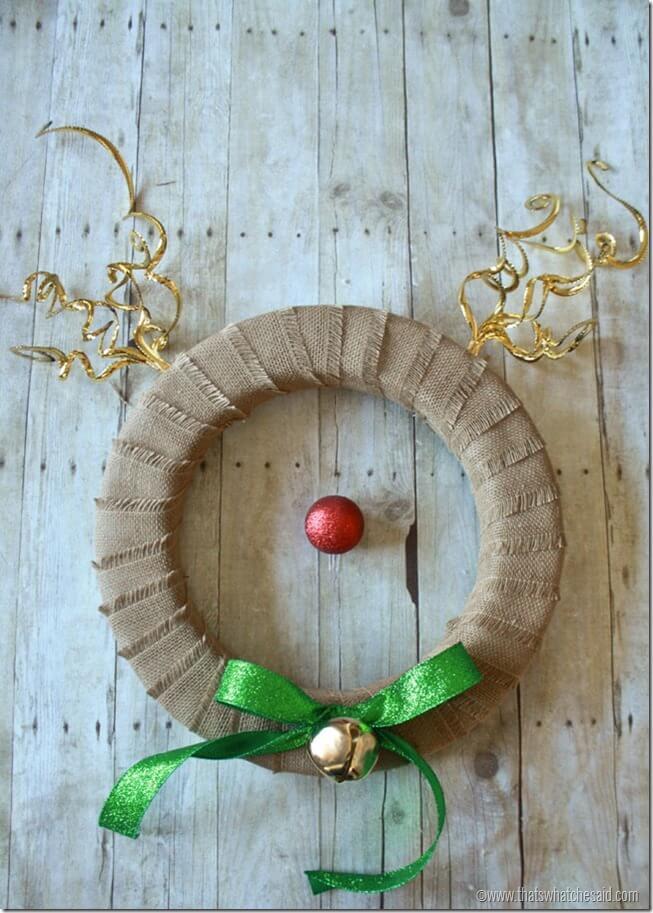 Reindeer Wreath 7