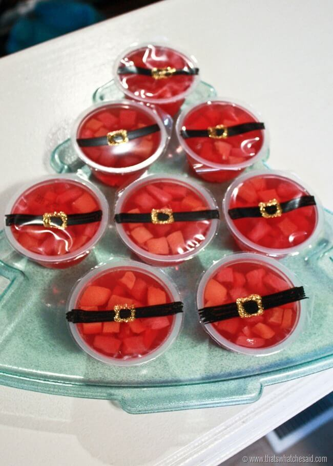 Santa Snack Fruit Cups at thatswhatchesaid.com