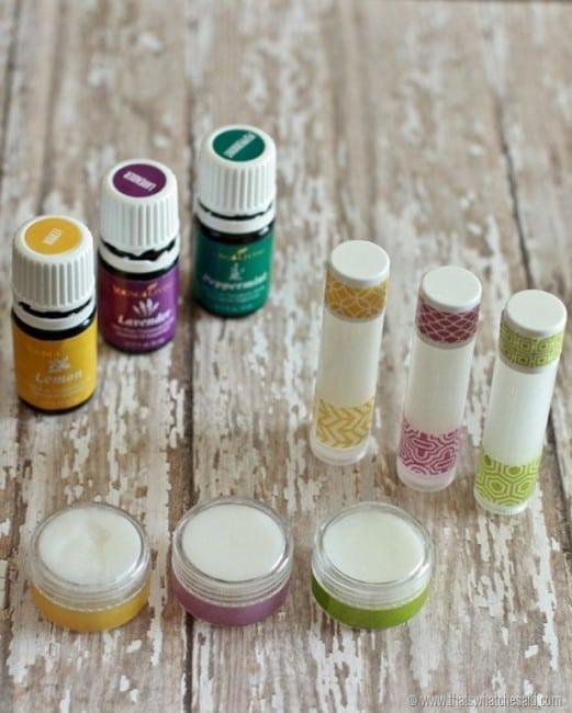 Homemade All Natural Lip Balm Recipe