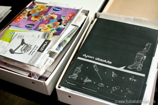 Easy Household Paper Organization Ideas