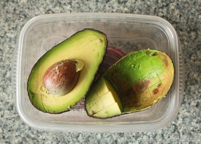 Keep Avocados Green 13