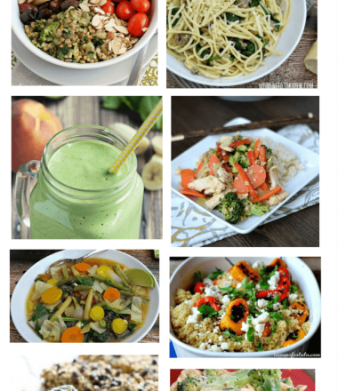 8 Healthy Meal Ideas at www.thatswhatchesaid.com