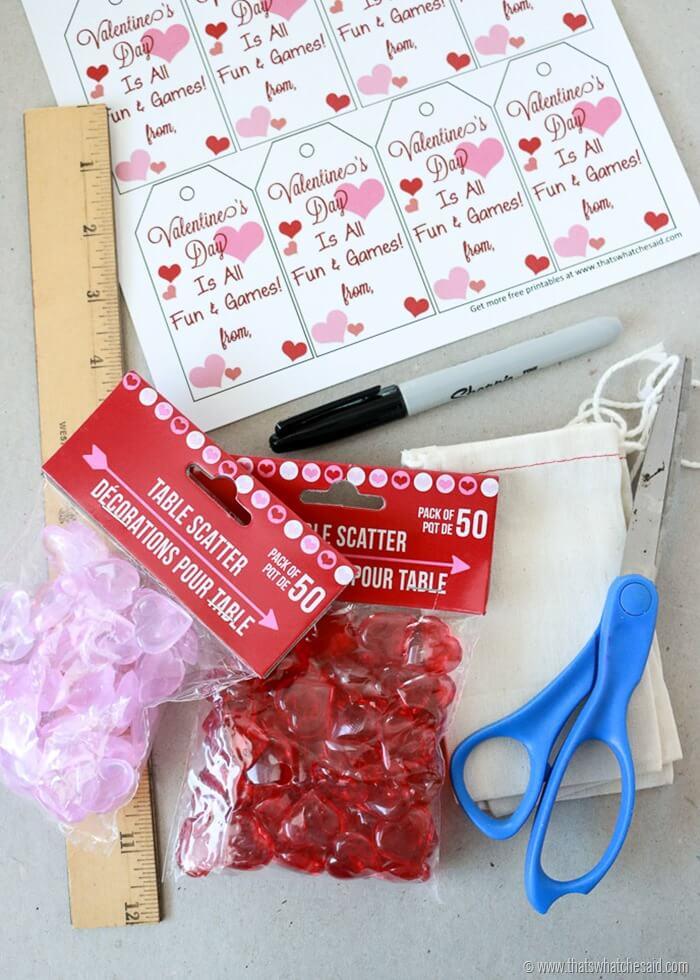 Tic-Tac-Toe Valentine Idea at www.thatswhatchesaid.com