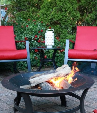 Perfect Patio for S'mores