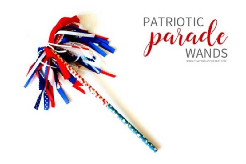 Patriotic Parade Wands