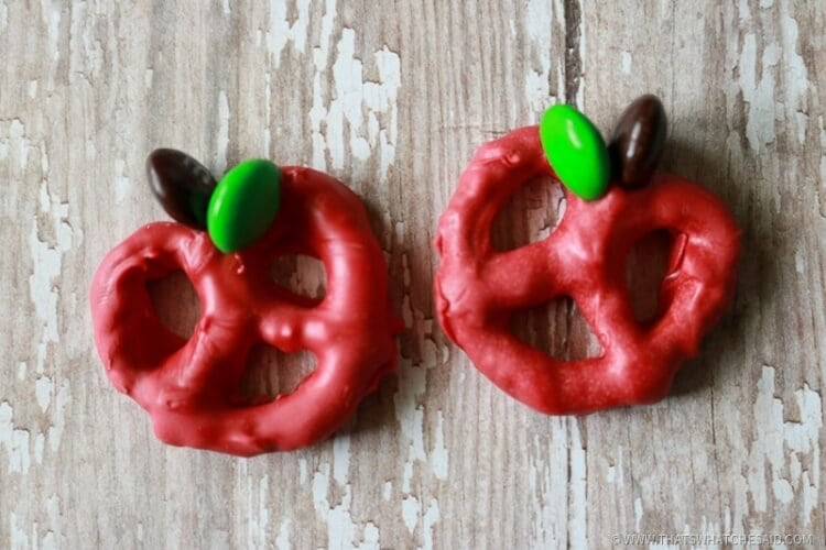 Easy to Make Apple Pretzel Bites