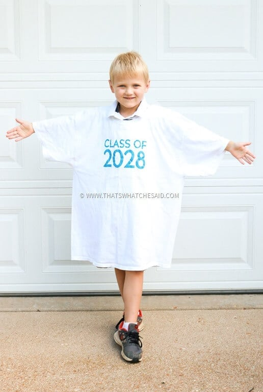 First Day of School Photo Opp Idea!