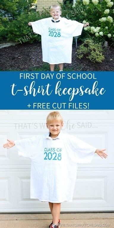 First Day of School Keepsakes!