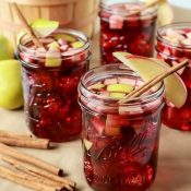 Easy Apple cinnamon Sangria Recipe