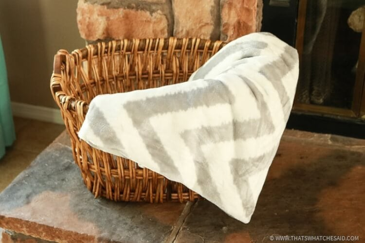 Patterned Blankets are a great way to add color and desing to your space