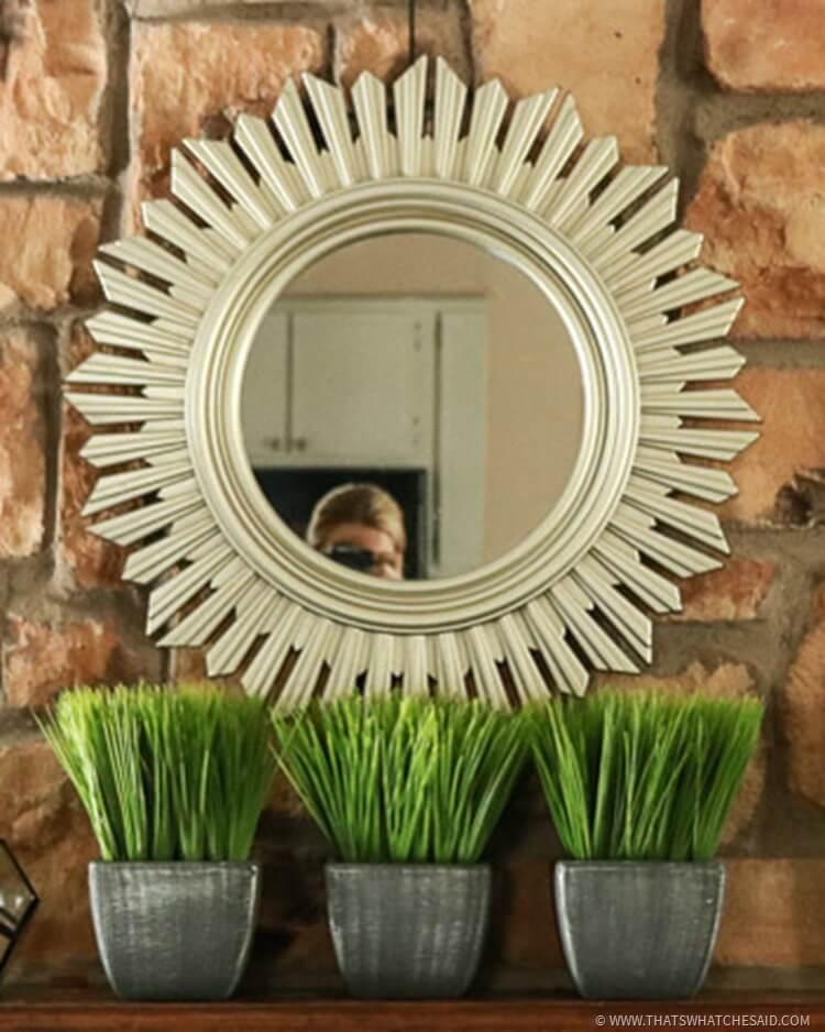 Sunburst Mirror - At Home Stores