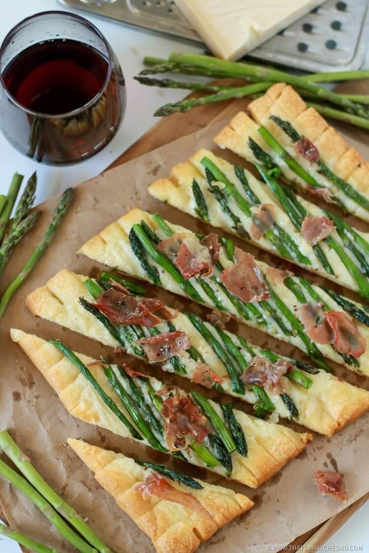 Easy Appetizer Recipe - Asparagus Tart