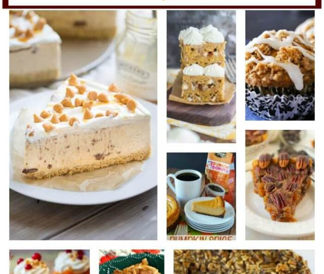 Easy Thanksgiving Dessert Ideas Featured At Www Thatswhatchesaid Com